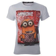 Τα Minions έιναι εδώ... με θεότρελα σχέδια που θα τα φοράς μέχρι τελικής πτώσης. Φτιάξε την διάθεσή σου με τα υπέροχα T-shirts Minions και με τιμές πραγματικά μινιόν..!!!!
