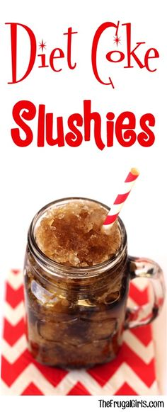 Diet Coke Slushie Recipe! ~ at TheFrugalGirls.com ~ nothing beats ice cold Diet Coca-Cola Slushies on a hot day! The perfect refreshing drink for kids and adults! #slushy #recipes #thefrugalgirls