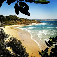Wategos Beach, NSW - one of our favourite Aussie beaches just around from world famous Byron Bay. One of our #hooroo #SecretSpots