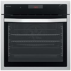 Buy John Lewis & Partners Electric Multifunction Oven with Added Steam, Stainless Steel from our Built in Ovens range at John Lewis & Partners. Cooking Bread, Oven Cooking, Glazed Glass, Single Oven, Stainless Steel Oven, Built In Ovens, Cooking Equipment