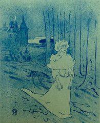 1950 Affiche Sonambule, Toulouse Lautrec