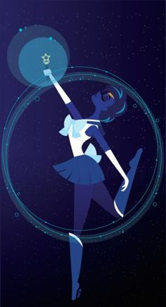 These Quirky Sailor Moon Illustrations are Awesome: Sailor Scout of Love and Intellect, Sailor Mercury