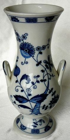 Seymour Mann Vienna Woods Blue Onion Vase by JulianosCorner - SOLD
