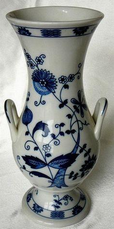 Seymour Mann Vienna Woods Blue Onion Vase by JulianosCorner - SOLD