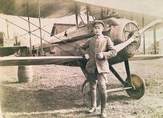 WW1 Scarce #photograph showing a French SPAD VII fighter plane in service with an unidentified German Jasta