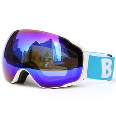be nice ski goggles  Ski goggles,JULI Brand Double Layers UV400 Anti-fog Protection Ski ...