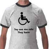 lol! I just loved how so many physically disabled people loved this! have a sense of humor!