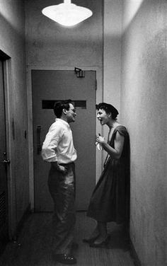 Sidney Lumet with then-wife Rita Gam