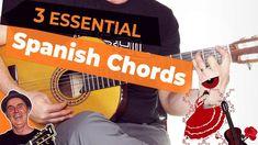 3 Essential Spanish Guitar Chords | Spanish Flamenco Guitar [Tutorial]  In this lesson, you'll learn three essential Spanish guitar chords often used in the New Flamenco style of music. Flamenco Guitar Lessons, Guitar Tutorial, Best Vibrators, Guitar Chords, Music Lessons, Music Education, Learning Spanish, Youtube, Essentials