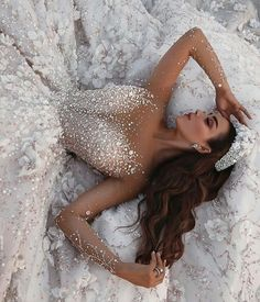gorgeous gowns Discount Crystal Appliqued Mermaid Wedding Dresses Tulle Ball Gown Wedding Dress Sheer Long Sleeve Beach Bridal Gown Chapel Train Custom Made Bride Gown Chinese We Sheer Wedding Dress, Dream Wedding Dresses, Bridal Dresses, Prom Dresses, Wedding Dresses With Bling, Wedding Dress Princess, Amazing Wedding Dress, Beaded Wedding Dresses, Wedding Dress Sparkle