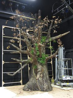 Finished work 08 - Tree for stage set | Flickr - Photo Sharing!