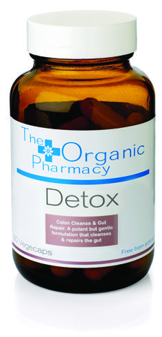 The Organic Pharmacy Guide To Detox Capsules A Mixture Of Clay Psylium And