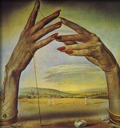 """art-and-fury: """" Portrait d'une Femme Passionate - Salvador Dali """""""
