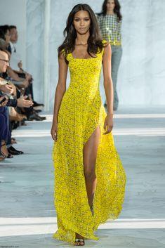 Lais Ribeiro for Diane von Furstenberg spring/summer 2015 collection - New York fashion week