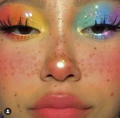 Cute Makeup Looks, Makeup Eye Looks, Eye Makeup Art, Colorful Eye Makeup, Pretty Makeup, Eyeshadow Makeup, Beauty Makeup, Perfect Makeup, Face Makeup