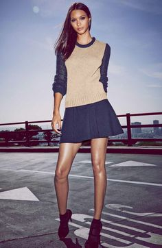 Has Selma ribeiro short skirts what