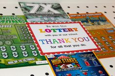 Lottery Gifts - Simple Yet Impressionable Gifts - Janitor Gifts ...