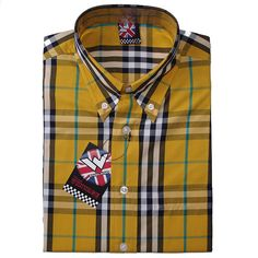 Vintage Button Down Shirt by Warrior Clothing- CASINO