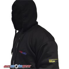 OriginalDare Rider™quality Hoody jacket using100%UndilutedDuPont™ Kevlar®lining 5 PC CE Armour included
