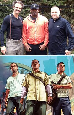 VOICE ACTORS FOR GTA V