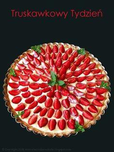 Every Cake You Bake: Tarta truskawkowa z kremem pomarańczowym