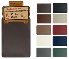 Buy MastaPlasta, Leather Repair Patch, First-aid for Sofas Car Seats, Handbags Jackets, Plain by Dark Brown at Discounted Prices ✓ FREE DELIVERY possible on eligible purchases. Leather Diy Crafts, Leather Craft Tools, Leather Repair, Stencil Templates, Wallet Pattern, Leather Pattern, Leather Tooling, Leather Bag, Sewing Stores