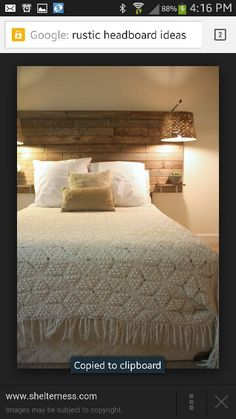Over size panel headboard with tables