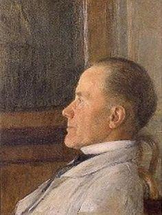 Self Portrait by Fernand Khnopff