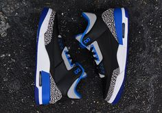 "A Detailed Look at the Air Jordan 3 ""Sport Blue"""