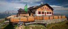 Hütten, Wandern, Touren & Berge mit Hund in Österreich  Wandern & Kulinarik mit Hund in den Schladminger Alpen - Steiermark (c) Hochwurzenhütte   Urlaub mit Hund oder Katze