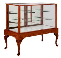Queen Anne Full Vision Display Case