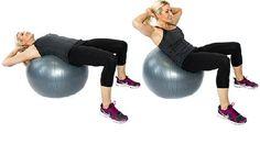 Exercise Ball Crunch5