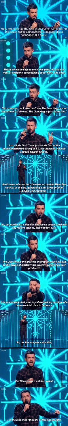 The Lion King is not just a kids film - FunSubstance Jack Whitehall, Funny Quotes, Funny Memes, Disney Love, Funny Disney, Disney Stuff, Disney Quotes, Disney And Dreamworks, Just For Laughs