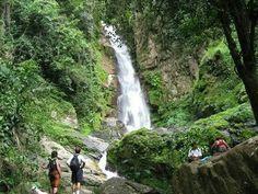 El Avila o Wuarairarepano -Caracas Venezuela - Cascada del norte.