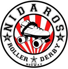 Nidaros Roller Derby Logo