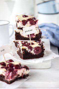 Cherry-Cheesecake Brownies