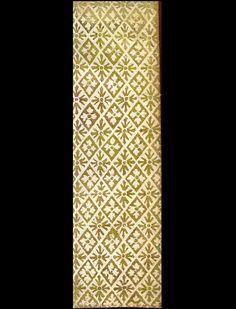 :: Papiers de garde dorés de la bibliothèque du château de Chantilly ::