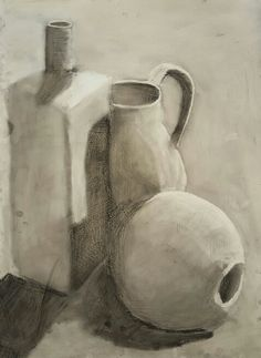 Gesso charcoal