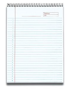 TOPS Docket Gold Project Planning Pad, 8-1/2 x 11-3/4 Inches, Wire Bound, White, Project Rule, 70 Sheets per Pad (99701) Tops http://www.amazon.com/dp/B001B0F3SC/ref=cm_sw_r_pi_dp_ryWQvb1E64SYR
