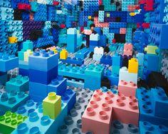 Legos anyone? JeeYoung Lee's Tiny Art Studio.