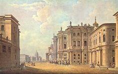 San Petersburgo en acuarelas antiguas del siglo XIX
