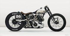 Bobber Inspiration | Brough Superior racer/bobber | Bobbers and Custom Motorcycles