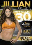 Jillian Michaels Ripped in 30 Get RIPPED with America's Toughest Trainer! Jillian Michaels new DVD Ripped in 30 is a comprehensive 30-day diet and exercise plan designed to get you in the best shape of your life! Ripped in 30 is comprised of four 24-minute workouts