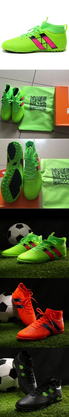Hot sale Indoor futsal soccer boots original football shoes men cheap high ankle soccer cleats TF Turf Adults Sport Sneakers