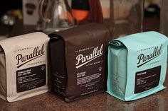 49th Parallel coffee branding