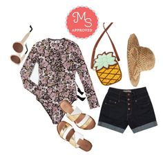 """Resort Wear"" by modcloth ❤ liked on Polyvore featuring Beach Riot and BC Footwear"