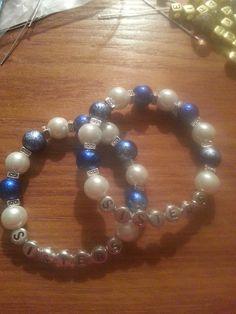 Sorority Pride Glass Pearls & Glass