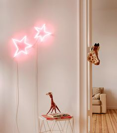 Cosmic  handmade neon sign inspired by Le Petit Prince by