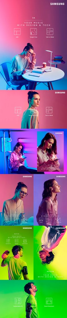 Creative Advertising, Samsung, Audio, and Level image ideas & inspiration on Designspiration Graphisches Design, Site Design, Logo Design, Text Design, Art Actuel, Desing Inspiration, Poster Design Layout, Web Layout, Banners