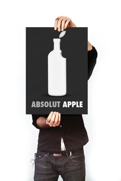 Absolut Vodka Ads by Sebastian Bohm, via Behance
